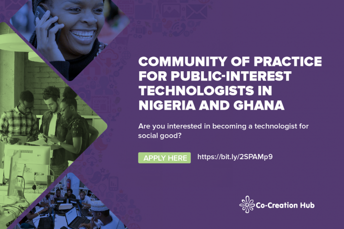 Community of Practice for Public-Interest Technologists in West Africa