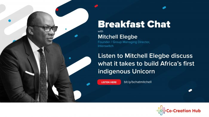 Breakfast Chat with Mitchell Elegbe